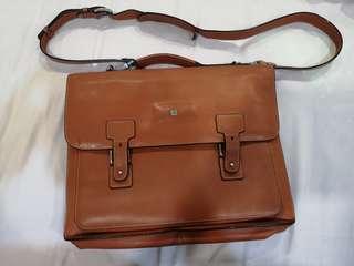 Kaufman leather bag