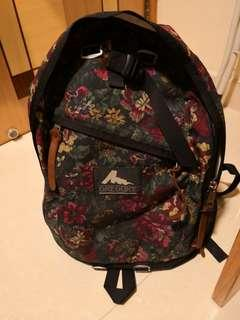 Gregory Day Pack Backpack Green 綠花 舊logo 絕版