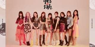 twice yes or yes poster (ver B)