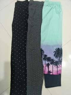 Limited edition pre-loved GAP Kids leggings / tights for girls