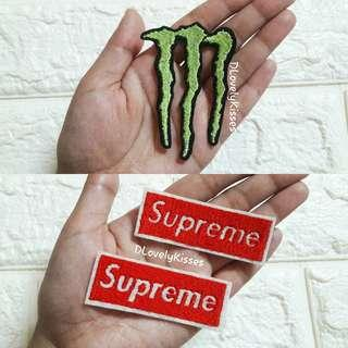 Supreme Monster Energy Patch