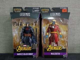 Marvel Legends Malekith & Black Knight Set (NO BAF)