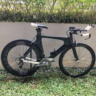 Cervelo P3 bike for sale (exclude wheels)