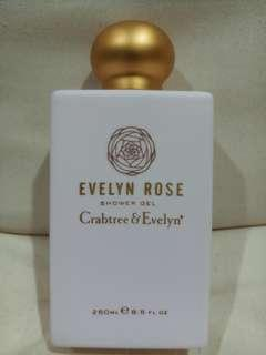 Crabtree and Evelyn Evelyn Rose SHOWER GEL