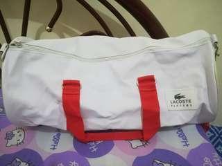 Lacoste gym bag
