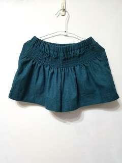 🚚 [售/換] 藍綠色毛呢短褲