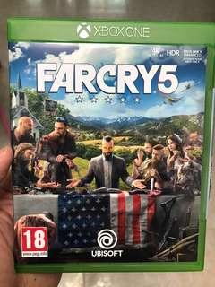 Far Cry 5 Xbox One Game Almost brand new with code