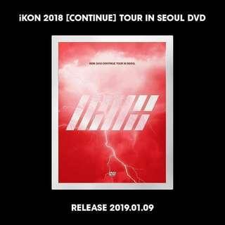 IKON - 2018 CONTINUE TOUR IN SEOUL DVD