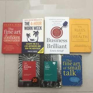 Self-help books for sale