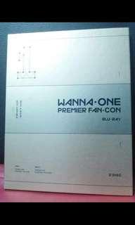 Wanna one premier fan con bluray
