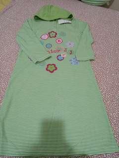 🚚 4U2綠白條紋帽衫(8)
