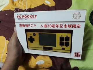 FC Pocket Handheld with Preloaded Games
