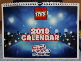 Lego Bricksworld 2019 Calendar