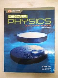 Discover Physics and Chemistry Textbook