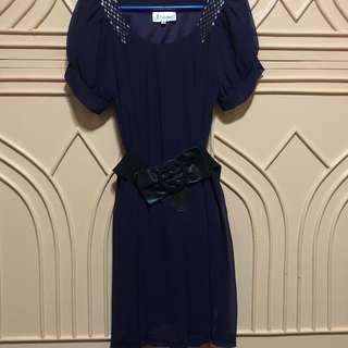 Purple Formal Dress from Xara by: GEORGETOWN