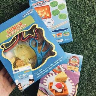 Play dough set / lunch meal kit