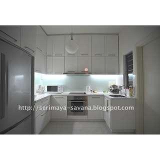 Seri Maya Fully Furnished 3r2b 1400sqft for rent opp setiawangsa LRT 10mins KLCC