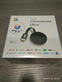 全新行貨 Google Chromecast Ultra