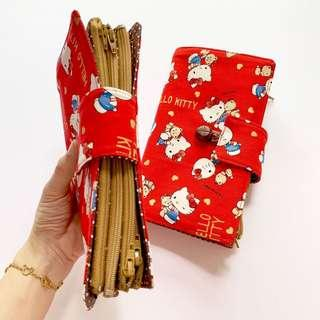 Multi purpose holder , Ang Bao cum Multi purpose Organizer ! Ang Pao Holder. (Booklet style) hello kitty