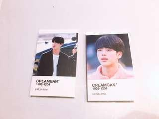 EATJIN PINK OFFICIAL CARDS