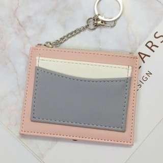Pastel Pink 3 in 1 Card Holder