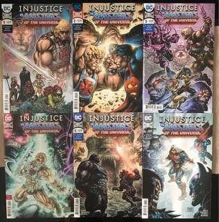 Injustice vs Masters of the Universe - DC Comics