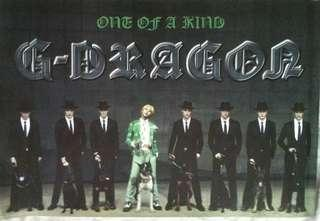 G-Dragon One of a kind Poster