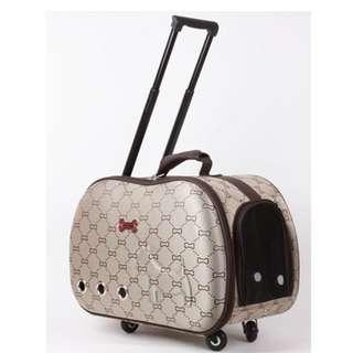 50% off (with Defects) EVA Pet Carrier with wheel