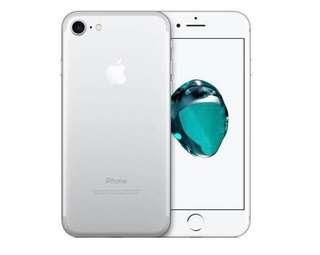 Iphone 7 128GB Silver; Battery condition 85%