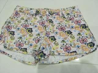 Limited edition pre-loved ZARA Girls shorts