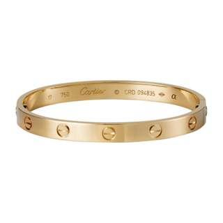 cartier love bangle replica bought for $600