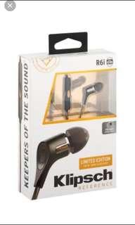 R6i LIMITED EDITION Klipsch earpiece