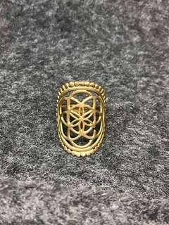 Flowers of life ring