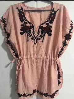 🎉 Clearance Sale! pink bohemian top