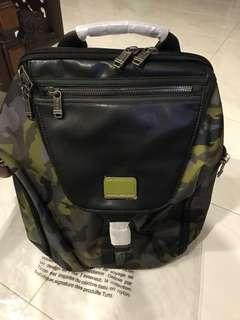 Tumi Men's Alpha Bravo Willow Backpack, Green Camo, One Size