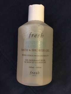 Fresh 西柚果香沐浴啫喱  HESPERIDES GRAPEFRUIT BATH & SHOWER GEL