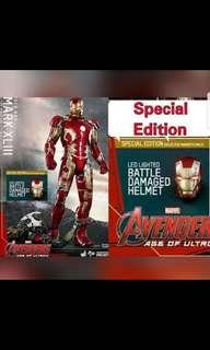 Hot toys mark 43 1/6 limited edition
