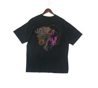Vintage 90s Janis Joplin single stitching tee