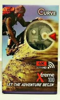 🚚 🌠Special offer: Curve™ Xtreme 100 Ultra-HD designed 4K action camera for filming every detail of your adventures. Functions as camera, video, car & bike dash cam.