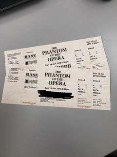 Phantom of the Opera (16June 8.30PM)