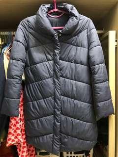 🚚 GU 鋪棉 保暖長版外套