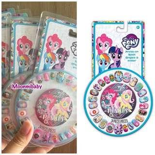 🌸現貨🌸 🇺🇸美國入口 The Little Pony Tee Press-on nail 指甲貼 (24pcs)