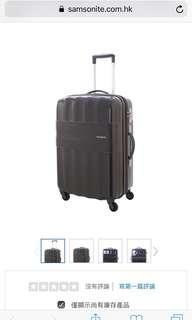 全新 新秀麗 Samsonite 29吋 黑色行李箱 有塵袋