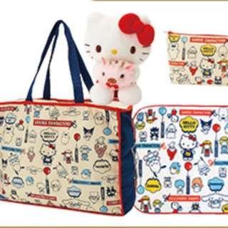 4fbf5db7b8a2 Sanrio Japan Lucky Bag 2019 Sanrio Characters Hello Kitty Set