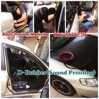 D Rubber 35m (Sound Proof)