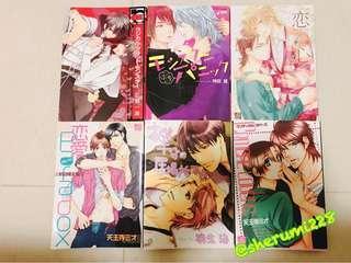 BL漫畫/多本日版平價書