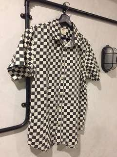 Vans checkered Button up shirt