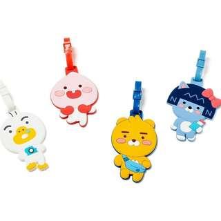 Kakao Friends Silicone Body Name Tag 行李牌