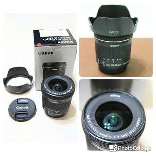🚚 Canon Ef-s 10-18 IS STM