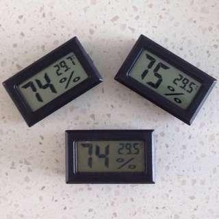 ✉️ Digital Home Kit - Set of 3 Hygrometer with Thermometer Units (Free Mailing)